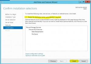 Windows Server 2012 R2 Data Deduplication tutorial picture 7