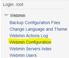 Adding reboot to Webmin on Linux