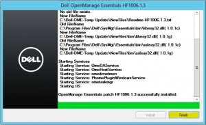 Install Dell OpenManage Essentials 11