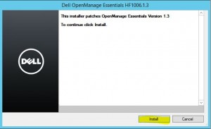 Install Dell OpenManage Essentials 9