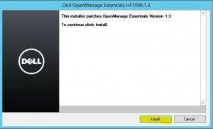 Install Dell OpenManage Essentials 9
